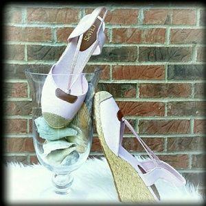 Chaps Shoes - 🎉NIB Chaps 5  11 Espadrilles Wedge Sandal
