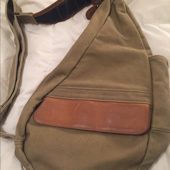 Remarkable Ll Bean Canvas And Leather Sling Bag Backpack Beatyapartments Chair Design Images Beatyapartmentscom