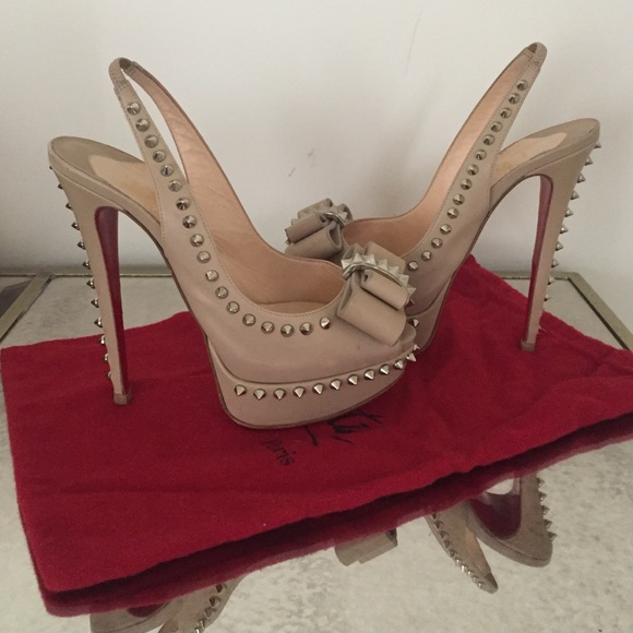 Christian Louboutin Shoes - Christian Louboutin spike heels