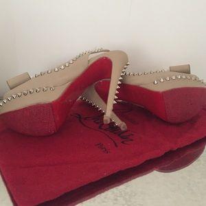 Christian Louboutin Shoes - Christian Louboutin spike heels