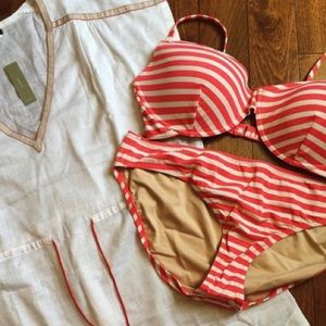 J. Crew Other - Sailor stripe underwire bikini set