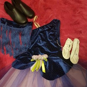 Dresses & Skirts - Girls dance recital outfit size child M