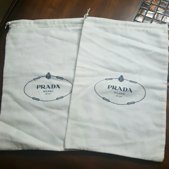 049a295378696c Prada Other | 2 Dust Bags | Poshmark