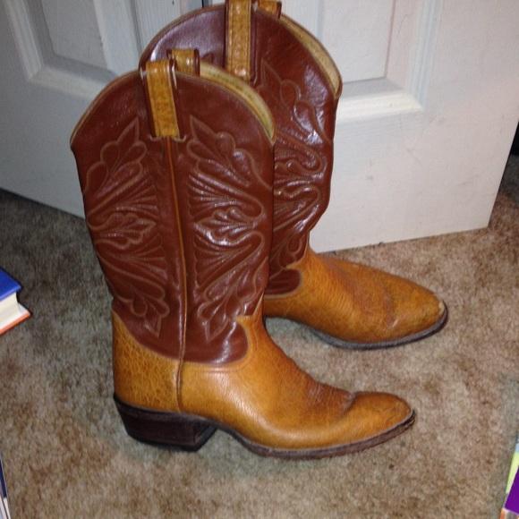 ef6577ce7fc Tony Lama El Paso TX boots used Sz 8 D 2 Men's 8
