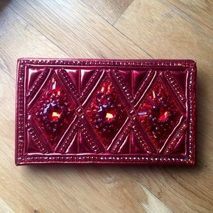 BALMAN X H&M Beaded Leather Clutch