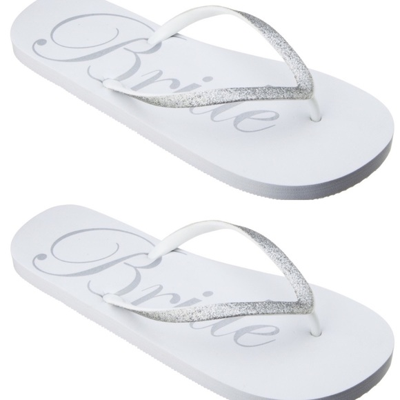 9153f50e4 🌟SALE🌟 Bride Flip Flops. M 572d6f77eaf03040b6017086