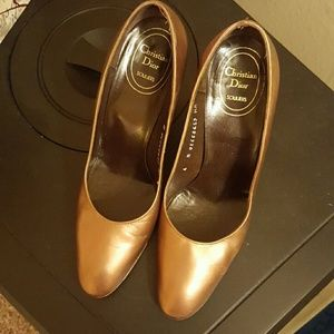 Dior Shoes - Dior Brass color shoes