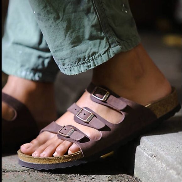 Birkenstock Florida Oiled Leather with Soft Footbed (Women's) LhNtgwjP