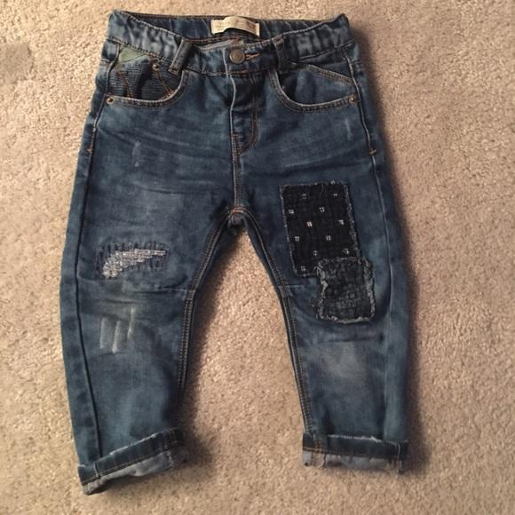 Zara baby Boy jeans. M 572dfa3d41b4e0c15b0020b7 63c90e873f3