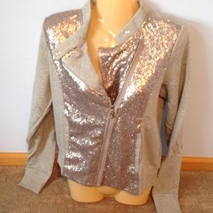 Juicy Couture Jackets & Blazers - Juicy Couture Sequins Zipup