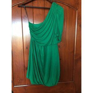 One shoulder goddess dress