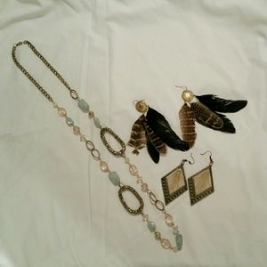 Jewelry - BUNDLE: Gold jewelry 3 piece bundle