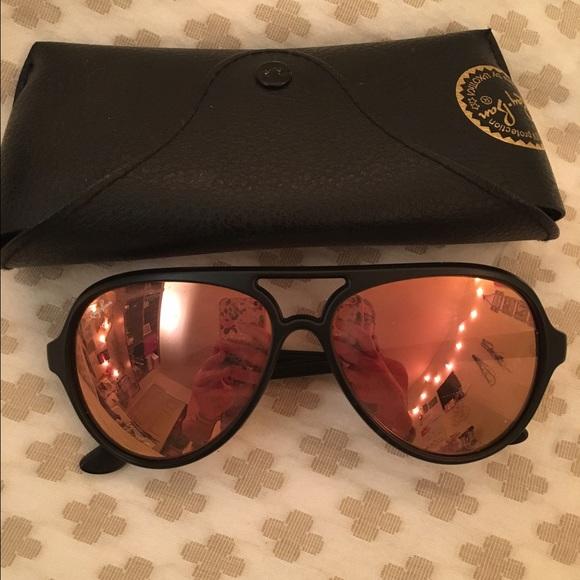 e1a3c0c00b Ray Ban Cats 5000 Classics Matte black   rose gold.  M 572e1033b4188e440a033383