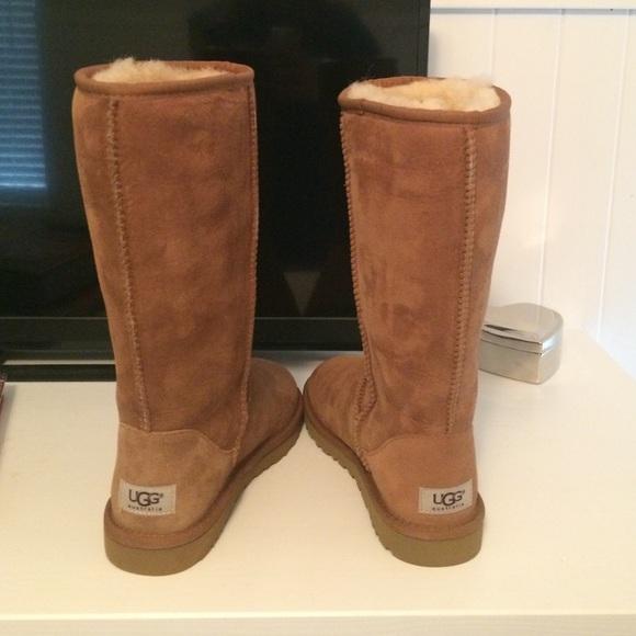 ebay uggs size 7 chestnut
