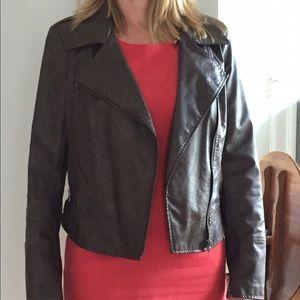 Fix leather jacket