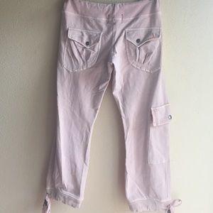 Just Me cotton Capri cargo pants