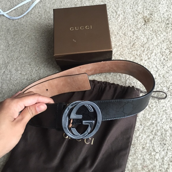 d2b8b91af Gucci Accessories | Belt With Interlocking G Buckle | Poshmark