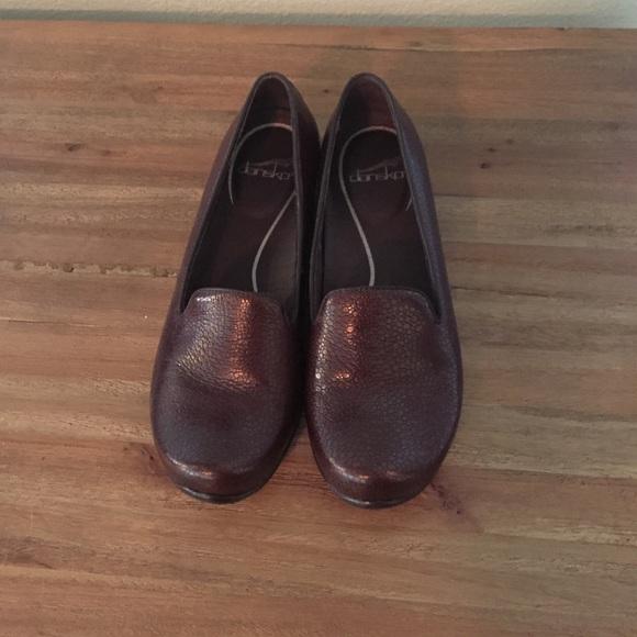 4dae5b5345d Dansko Shoes - Dansko Olivia Brown Cobblestone Loafers