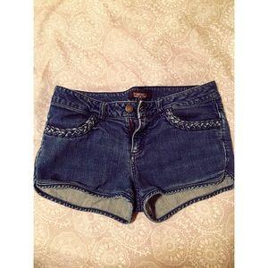 Forever21 blue jean shorts 