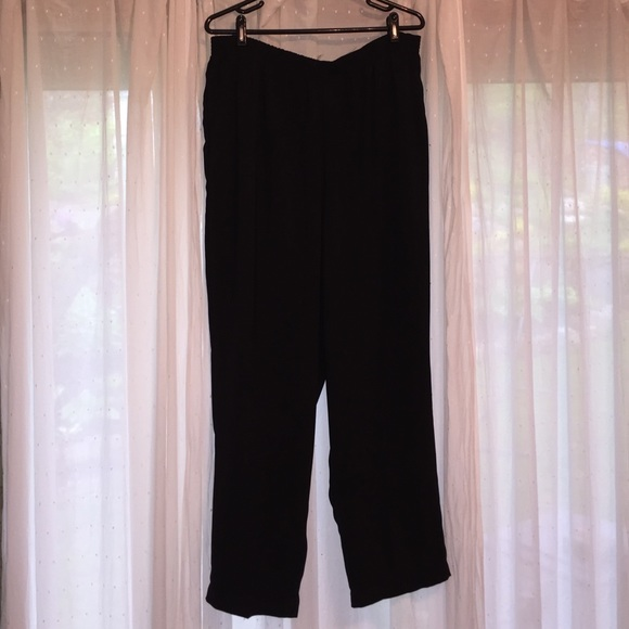 9f492cebd8d Dressbarn Woman Black Dress Pants