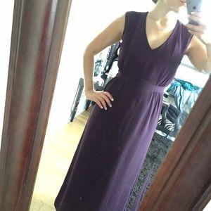 H&M Dresses & Skirts - Never-worn Purple tea length maxi dress!