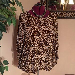 Chico's Tops - Chico's Leopard Skin Tunic