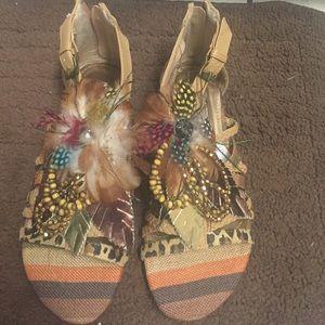 Shoes - Short gladiator sandals