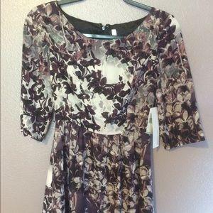 Kensie floral 3/4 sleeve dress