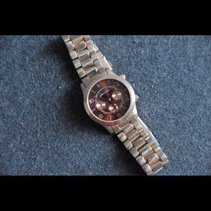 Accessories - Jules+James Rose Gold Boyfriend Watch