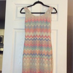 Ina Dresses & Skirts - multi color open back dress