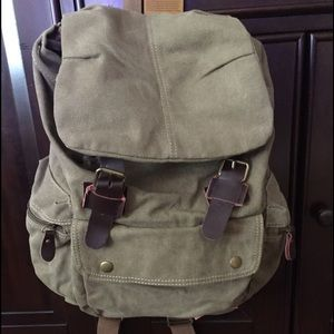 Handbags - New backpack! Canvas material