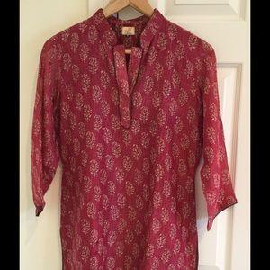 Cotton/ silk  Kurta tunic top