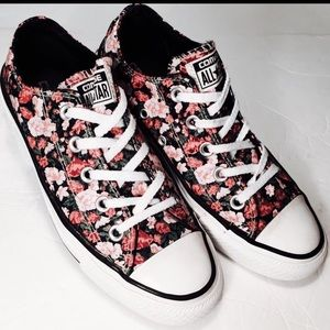 442d64dc58da Converse Shoes - Converse All star Lo floral sneakers