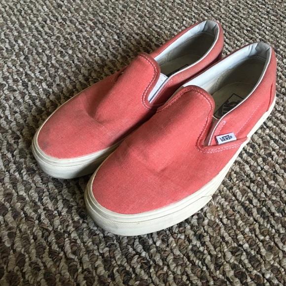 vans slides red
