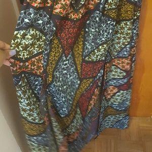 love fire Dresses - Navy maxi dress