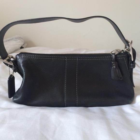 23e87d7a76 Coach Handbags - Coach Leather Tassel Hobo Shoulder Bag