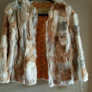 Jackets & Blazers - Sale !! Vintage Rabbit Fur Jacket