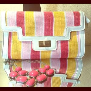 JustFab Bags - Colorful Clutch