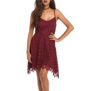 Hot Topic Dresses & Skirts - Hot Topic Crocheted Skulls Dress