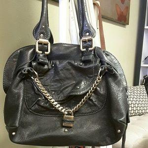 chloe black and white bag - Chloe Handbags on Poshmark