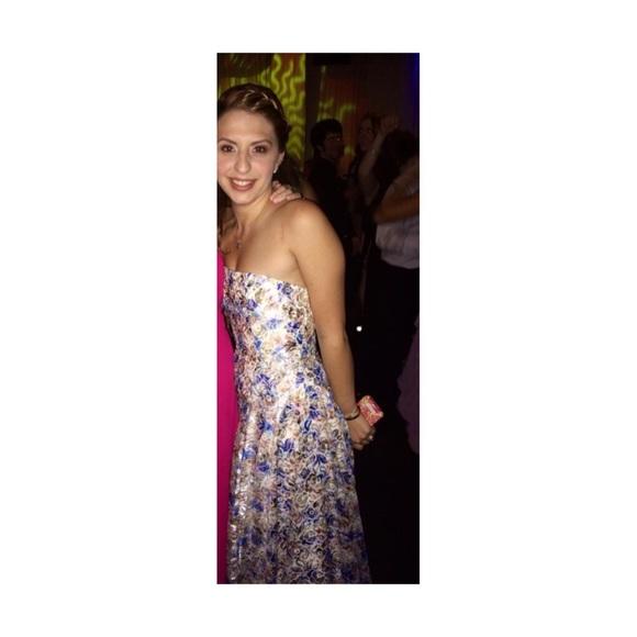 Alice + Olivia Dresses | Alice Olivia Dreema Strapless Ball Gown ...