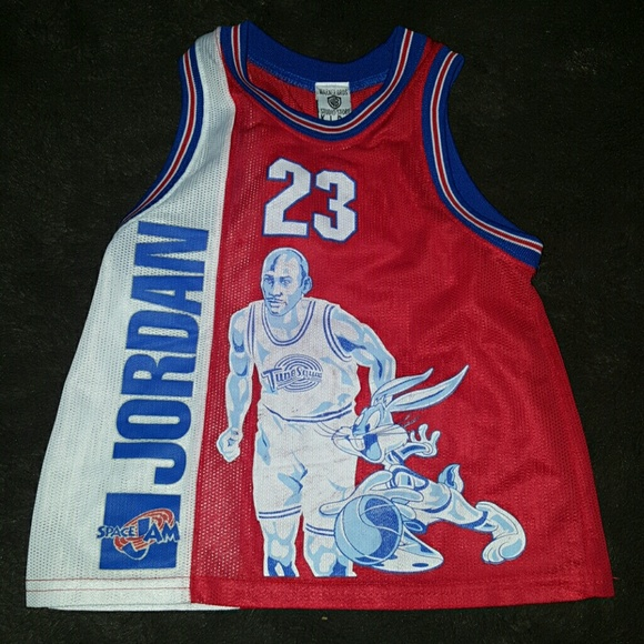 new concept 69275 bf823 Toddler Size Space Jam Michael Jordan Jersey
