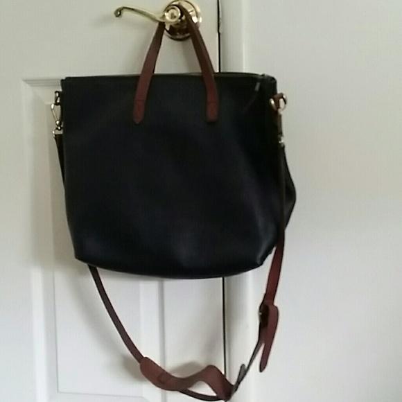 e5f8101e1 Madewell Bags   Pics Zip Crossbody Transport Tote   Poshmark