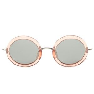 The Row Accessories - NEW! Linda Farrow x The Row Sunglasses (Rose)