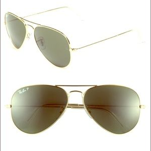 Ray-Ban Accessories - NWT- $225 Ray-Ban Ultralight Gold Classic Aviators