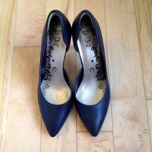 Brash Shoes - Black D'Orsay Pumps, Sz 9