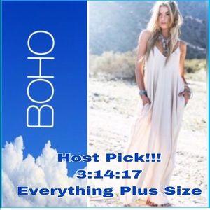 @myblueskydays Dresses & Skirts - 🌿Beautiful Boho Dress🌿🍃Plus Sizes Available🌿