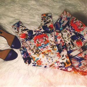 Rebecca Minkoff Floral Print Dress