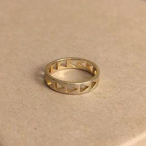 Gorjana Jewelry - Gorjana Gold Ring - Triangle Cutout