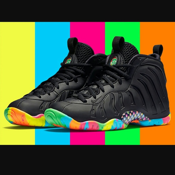 los angeles 0bcc8 5b5b3 ISO Nike Foamposite Black Fruity Pebbles. M 572ec2d5c6c7954daf0172cb. Other Shoes  you ...